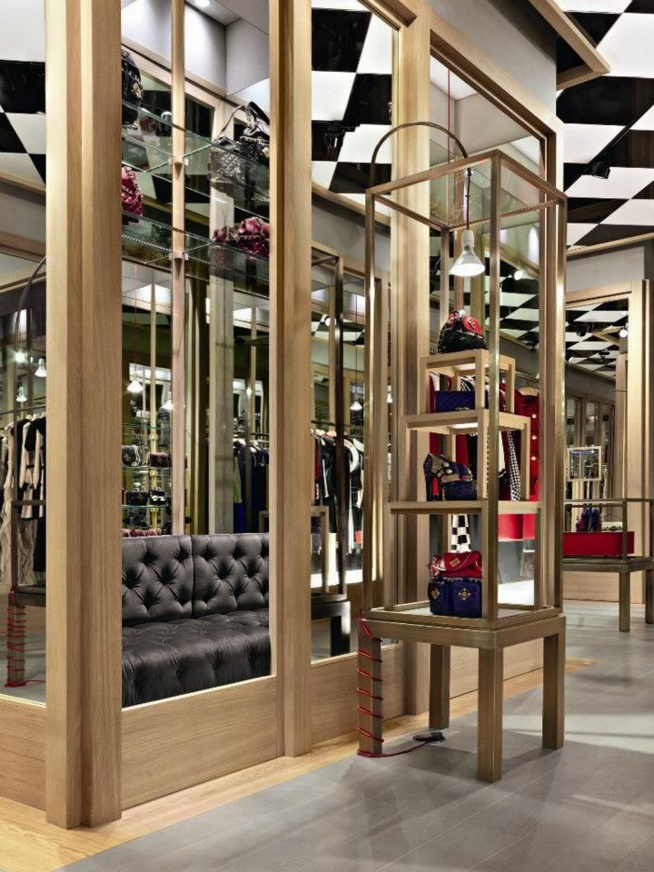 Moschino Boutique By Michele De Lucchi Milan Italy Store Design