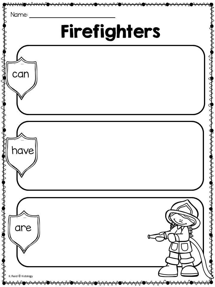 Fire Safety Printables For Primary Students Fire Safety
