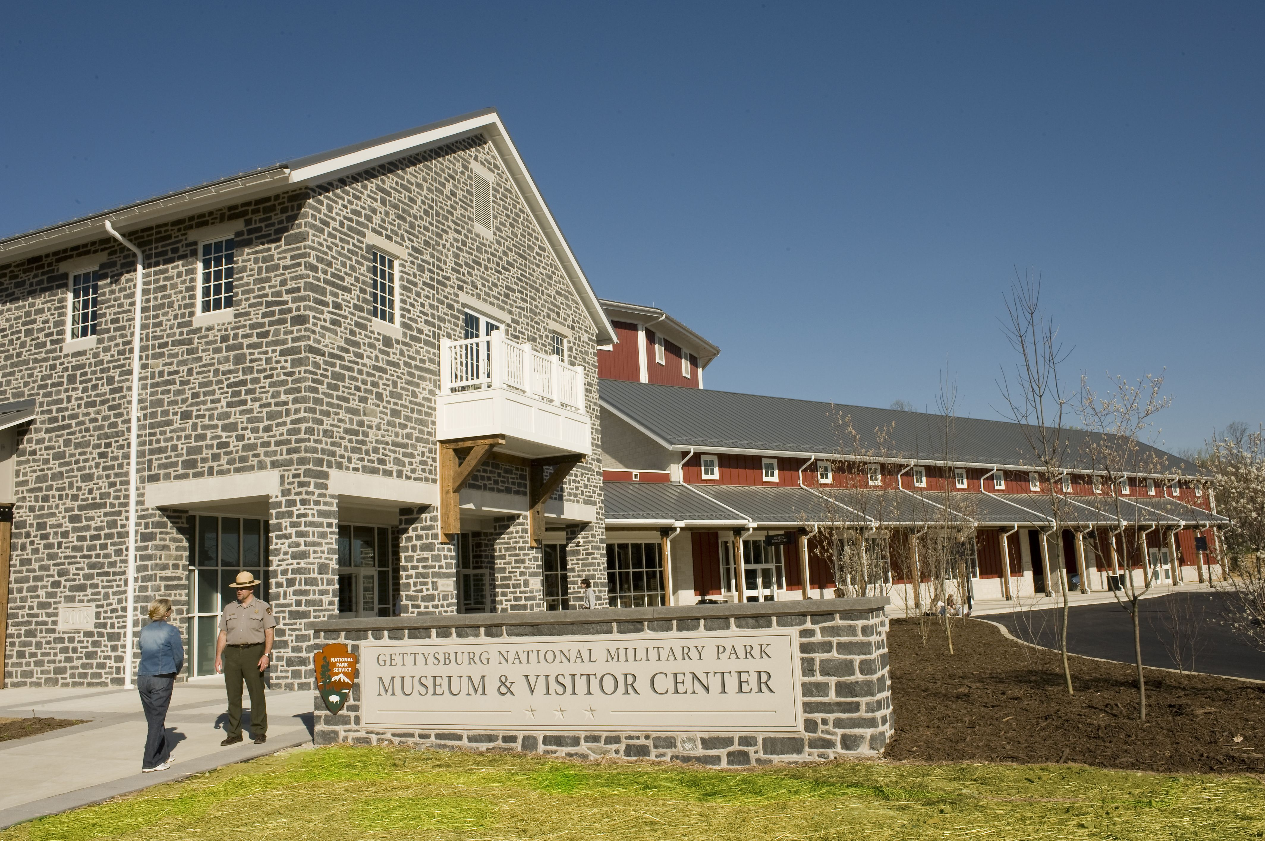 The Gettysburg National Military Park Museum Visitor Center At