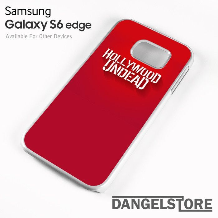 Hollywood Undead in Red - Z For Samsung S6 Edge Case