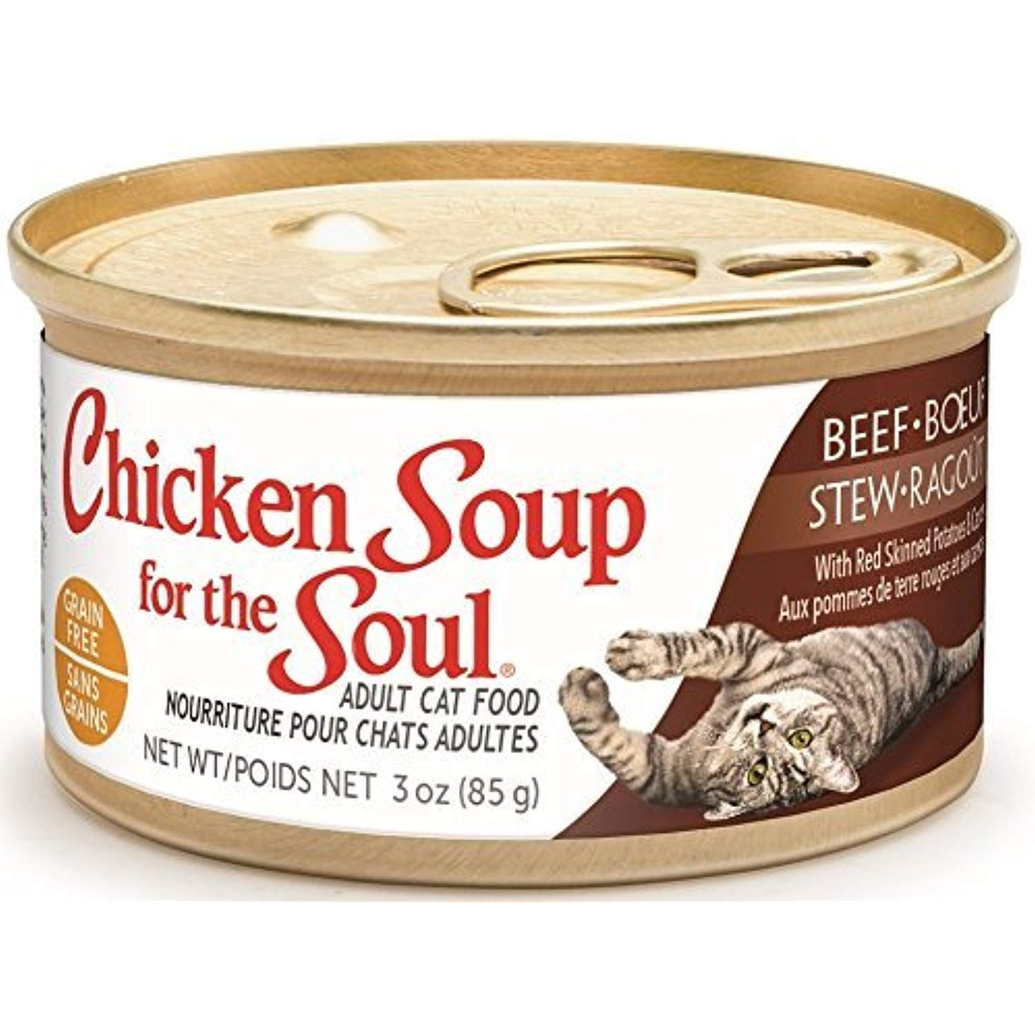 Chicken Soup For The Soul Grain Free Beef Stew with Red