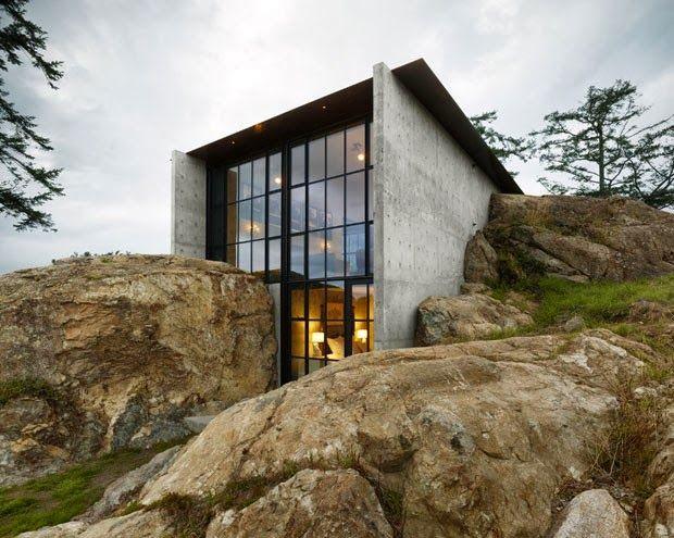 Casa en la Roca / Olson Kundig Arquitectos (Isla San Juan, Seattle, US) #architecture