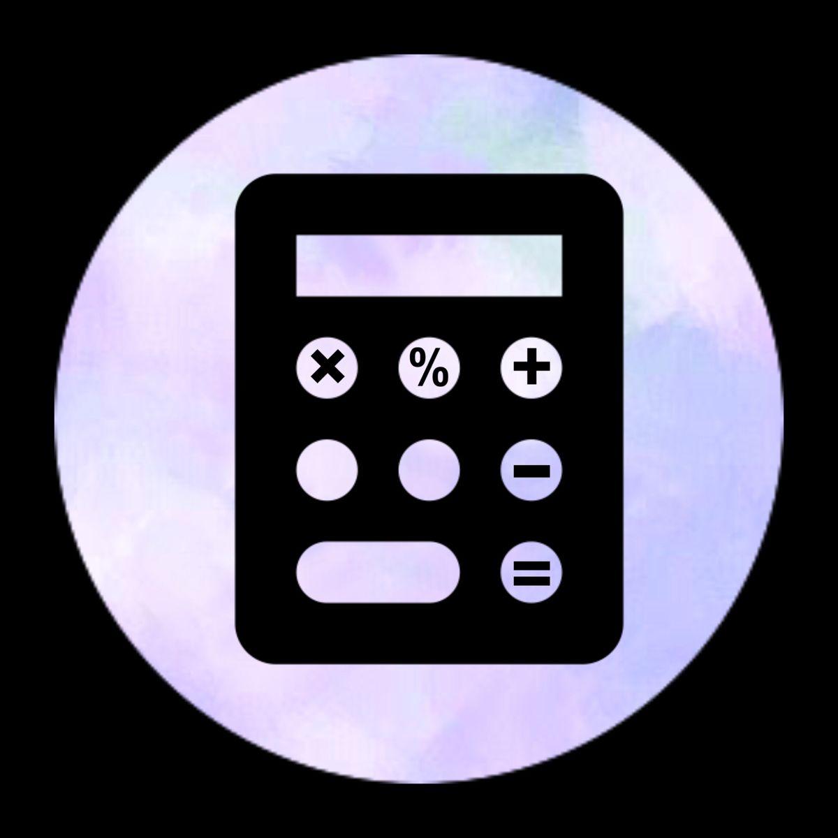 Calculator Icon Aplikasi Iphone Logo Aplikasi Aplikasi
