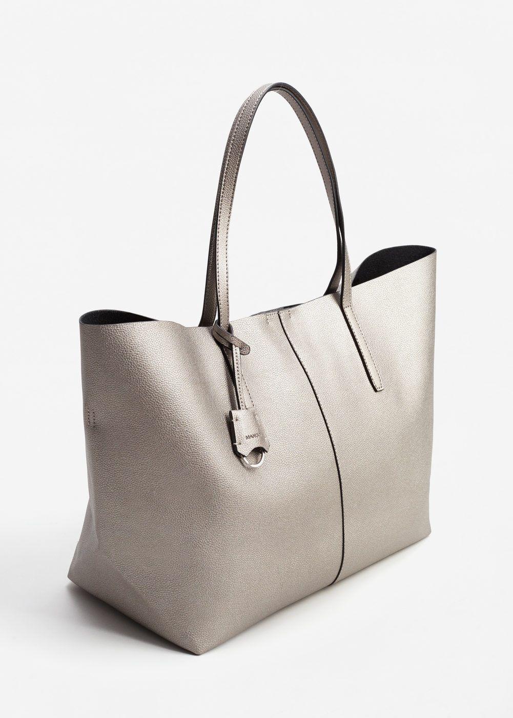 0a0e22a929d theannaedit-style-post-ysl-bag-march-2017-8 · Pebbled effect shopper bag -  Women