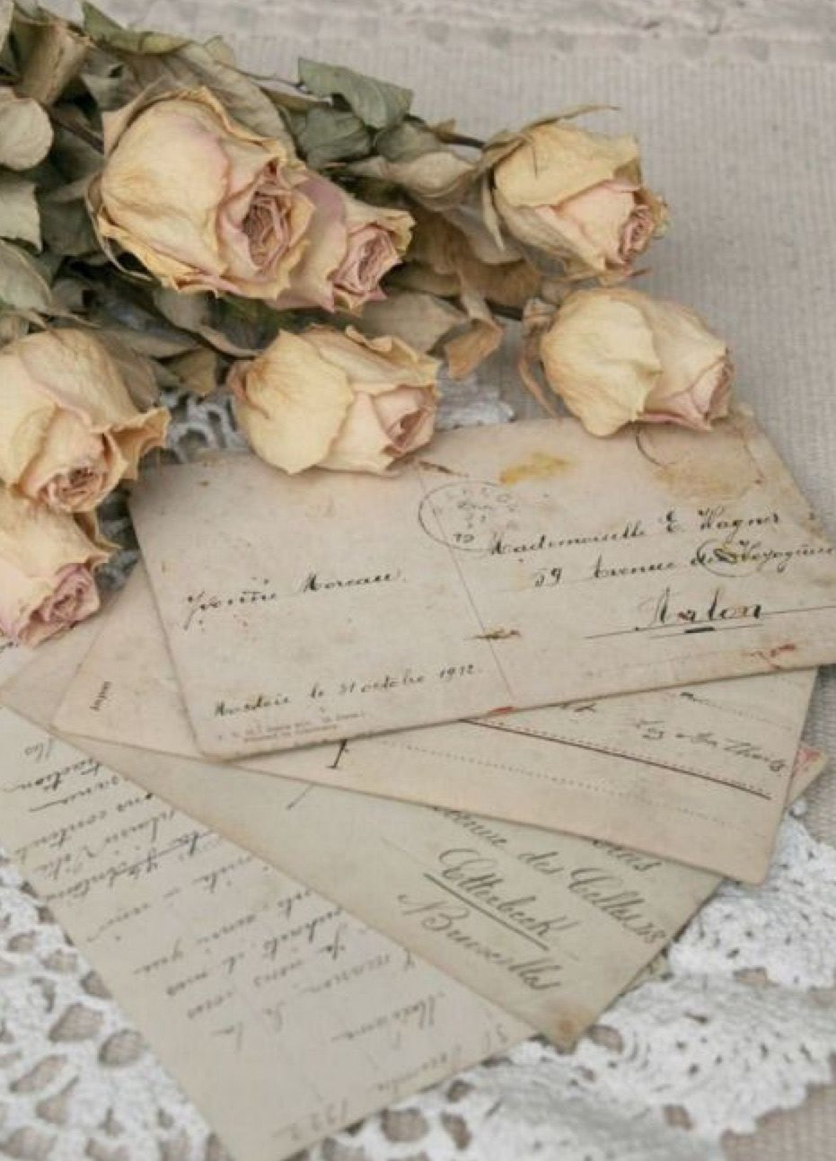 Pin By Amina Hodzic On Cottage On Lovers Lane Vintage Love Old Letters Love Letters