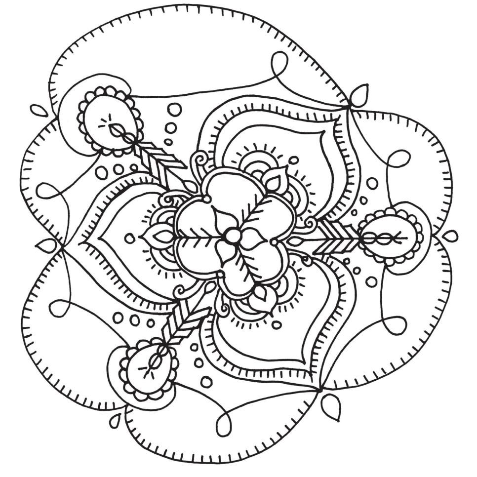 Free Printable Coloring Pages For Adults Stitchery Ideas