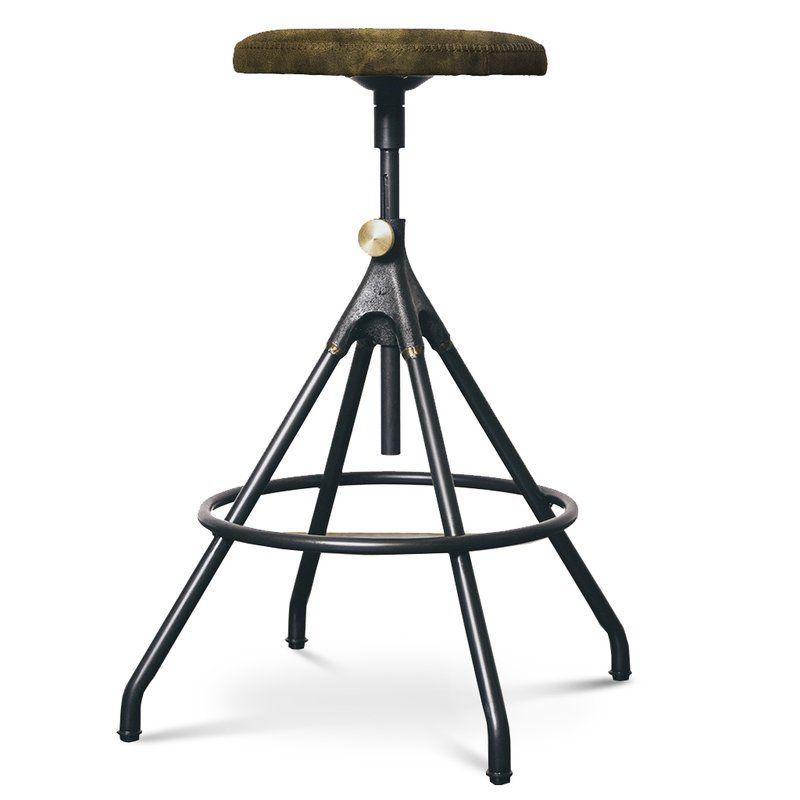 Akron Adjustable Height Bar Stool Adjustable Bar Stools Counter Stools Bar Stools