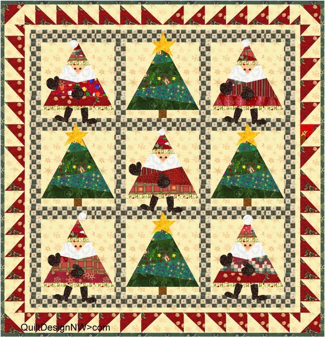 Dance, Santa, Dance, 33 x 33\