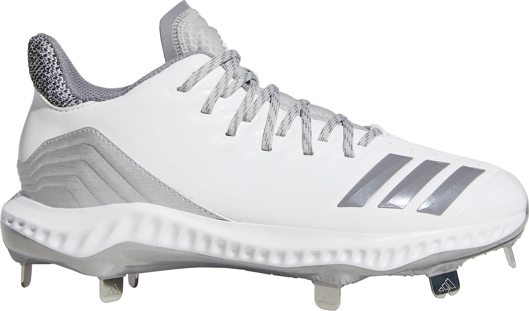 the best attitude bfba2 1ccce adidas Womens Icon Bounce Metal Fastpitch Softball Cleats, White