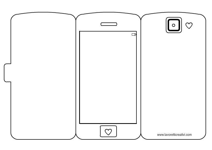 Smart Phone Template Templates Templates printable free, Stencil