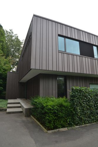 Private house in Brussels (Belgium) by ICEBERG ARCHITECTURE STUDIO - peindre un crepi exterieur
