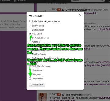 How to Create a #Twitter List