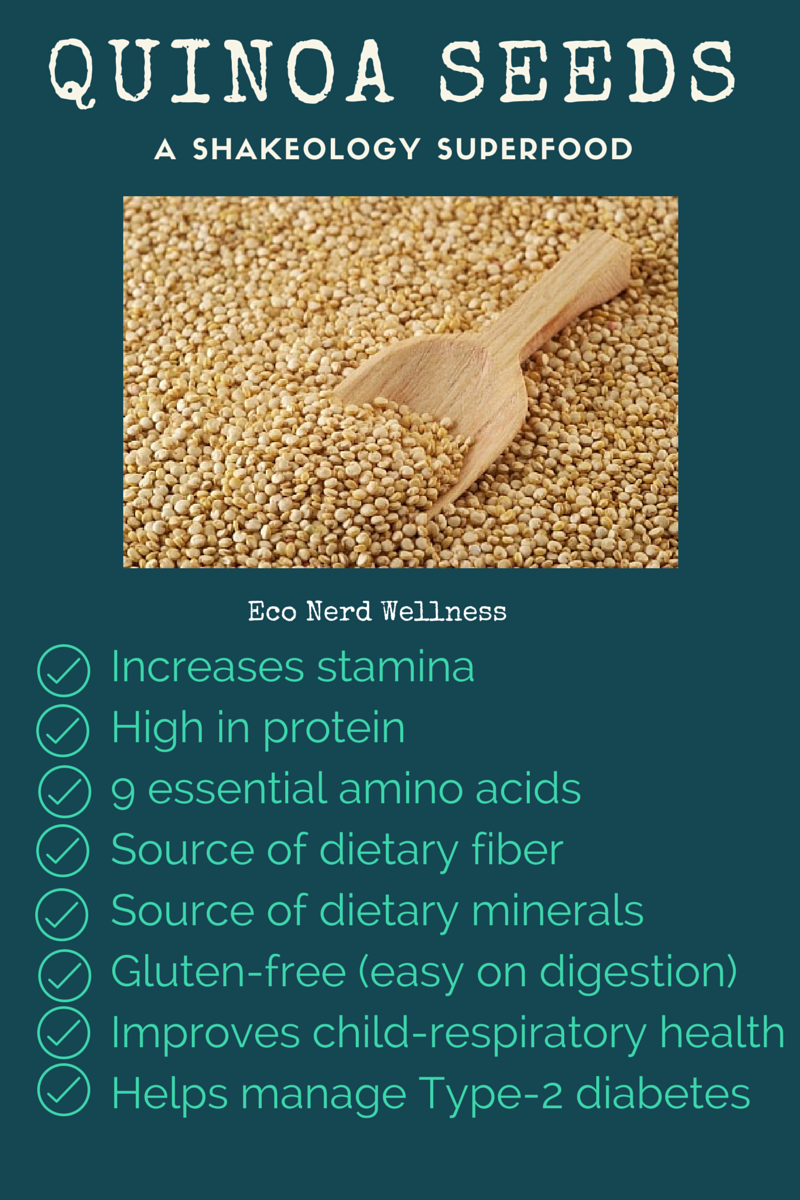 Benefits of quinoa seeds - a Shakeology superfood! # ...