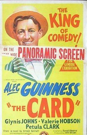 The Card (Ronald Neame, 1952) | Petula clark, Cards, Glynis johns