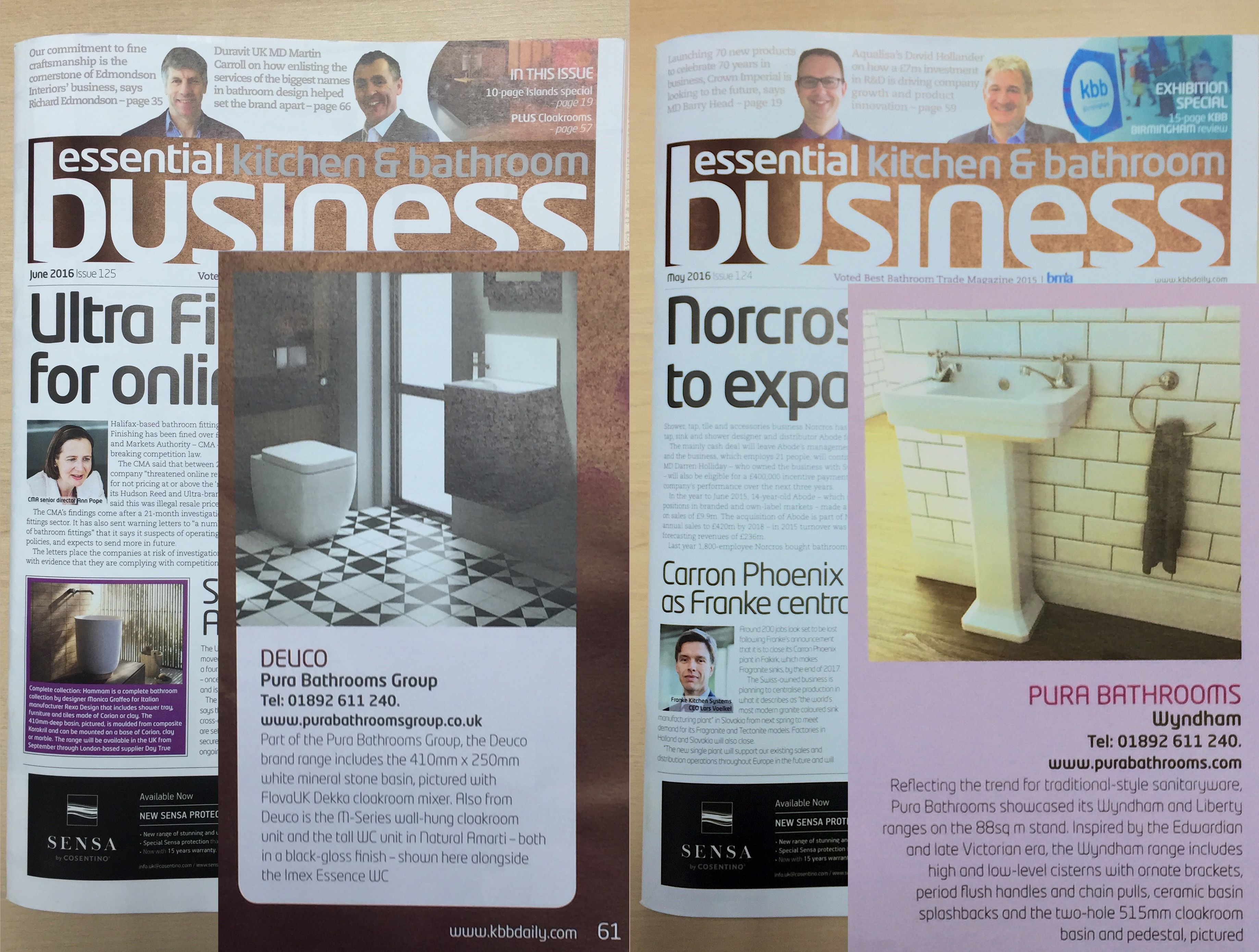 Delighted to announce that Imex and Deuco ranges were featured in the May  and June editionsDelighted to announce that Imex and Deuco ranges were featured in  . Essential Kitchen And Bathroom Business Magazine. Home Design Ideas