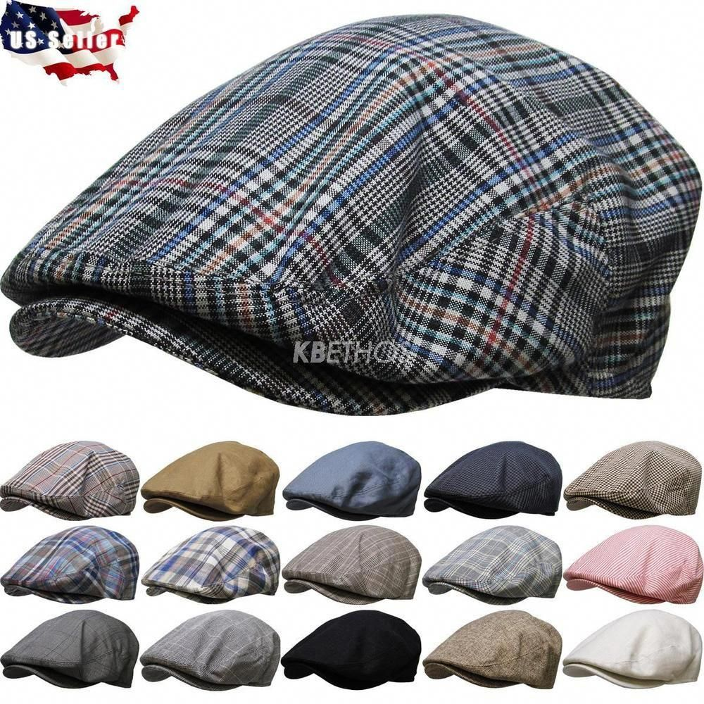 af0587e8 Men's Cabbie Newsboy & Ascot Ivy Hat Cap Plaid Solid Gatsby Golf NEW |  Clothing, Shoes & Accessories, Men's Accessories, Hats | eBay!  #mensaccessories