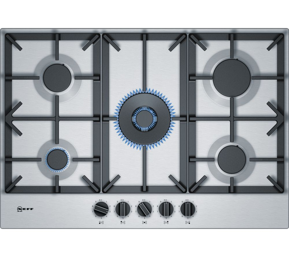 Best Neff N70 T27Ds59N0 Gas Hob Stainless Steel Gas Hob 400 x 300