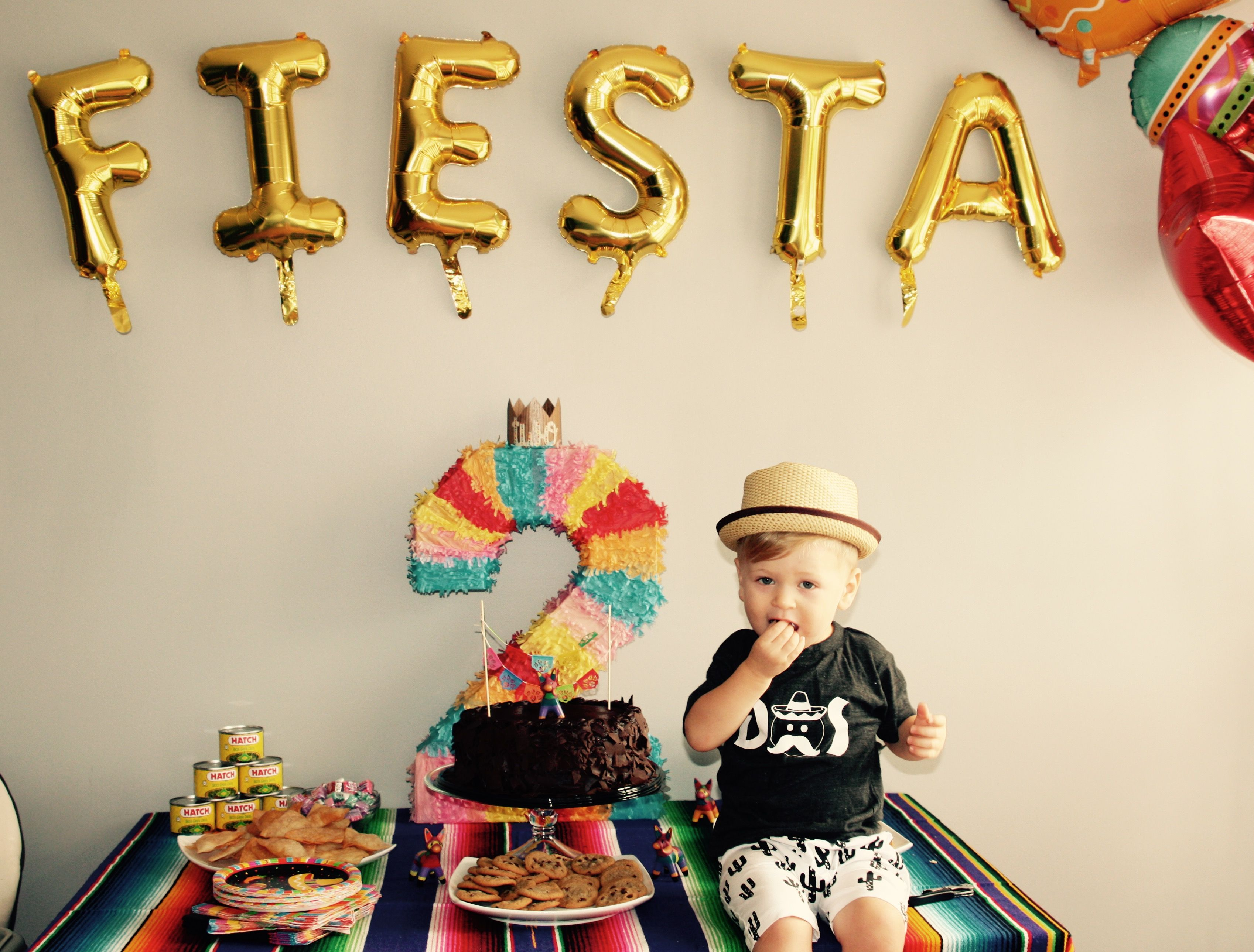 Fiesta Second Birthday Party Project Nursery Fiesta Birthday Party 2nd Birthday Boys 2nd Birthday Party Themes