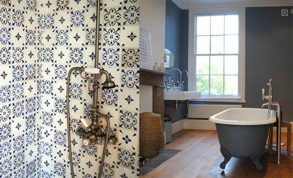 morrocan tiled bathrooms - Google Search