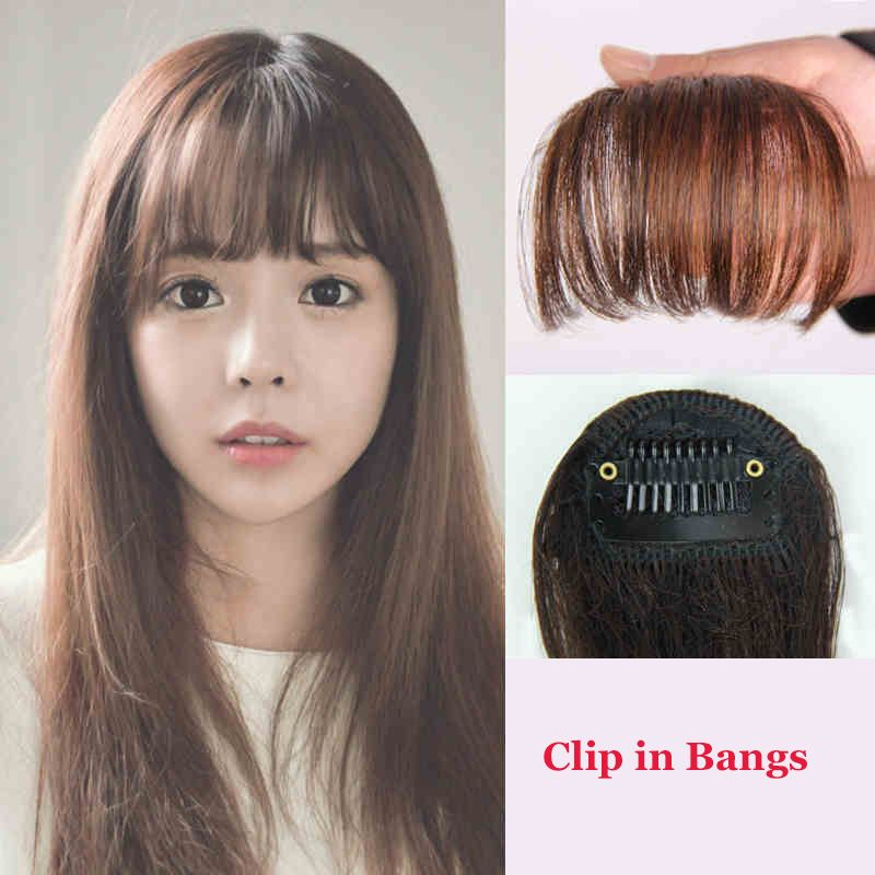 Apply hair clip in bangs fake hair extension hairpieces false hair cheap hair clip women buy quality clip curtain directly from china clip earings suppliers apply hair clip in bangs fake hair extension hairpieces false pmusecretfo Choice Image