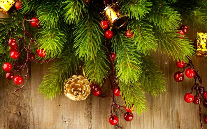 Fond D écran Vacances De Noël: Télécharger Fonds D'écran Noël, Nouvel An, Boules, Arbre