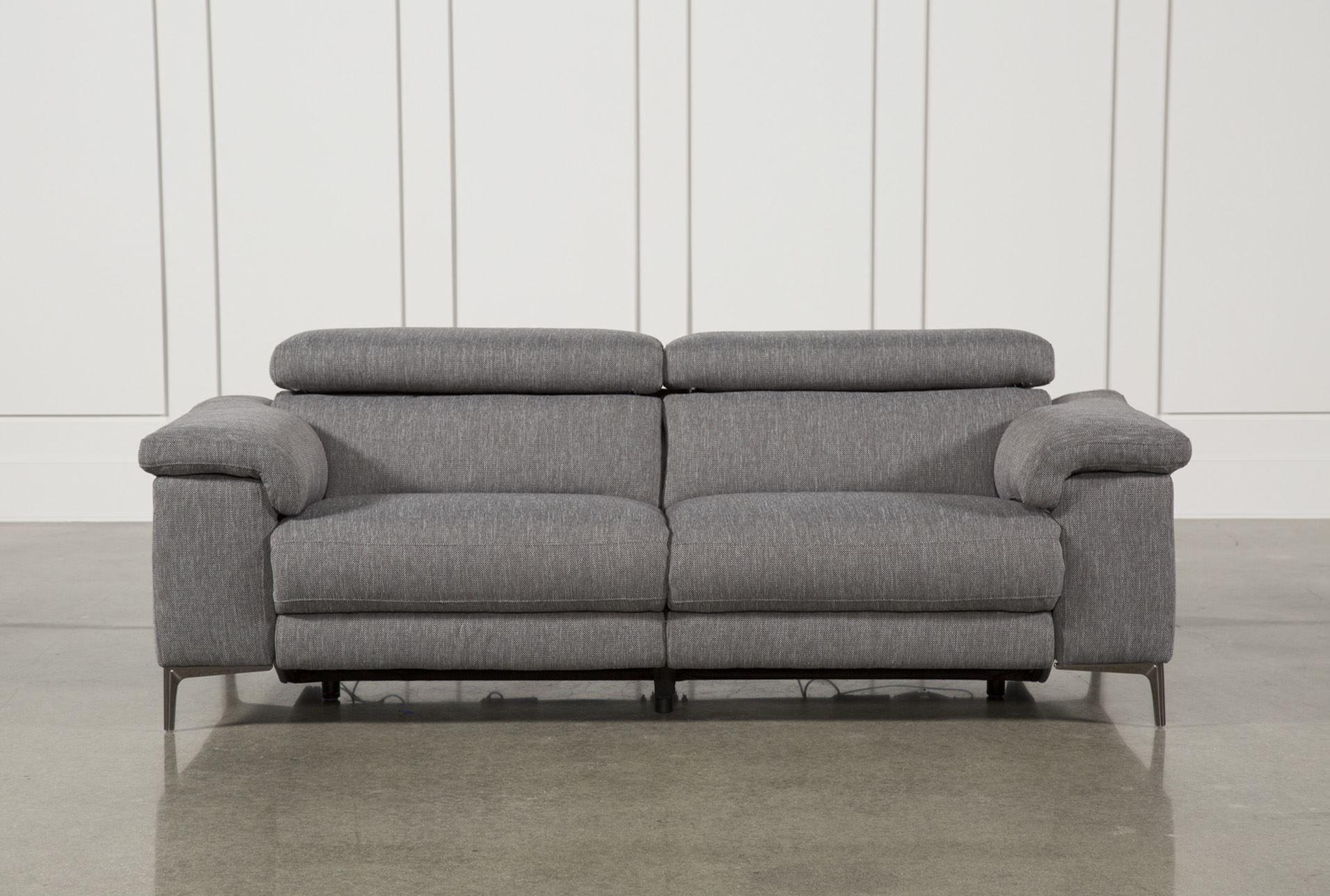 Power Reclining Sofa W Usb Talin Grey