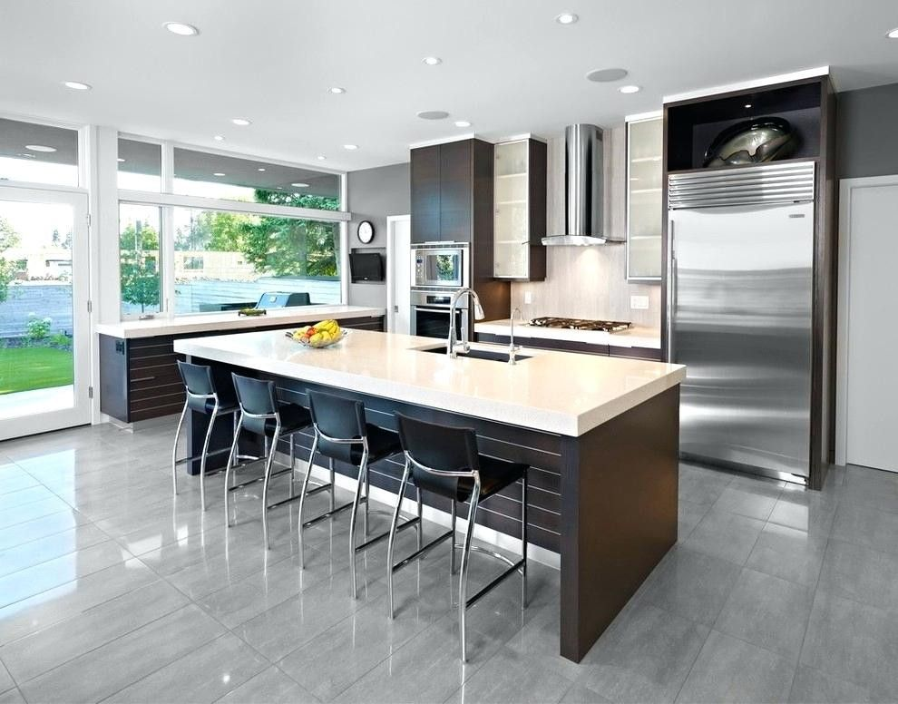 Cuisine Ouverte Salon 30m2 Apple Kitchen Decor Metal Kitchen Cabinets Modern Kitchen Design