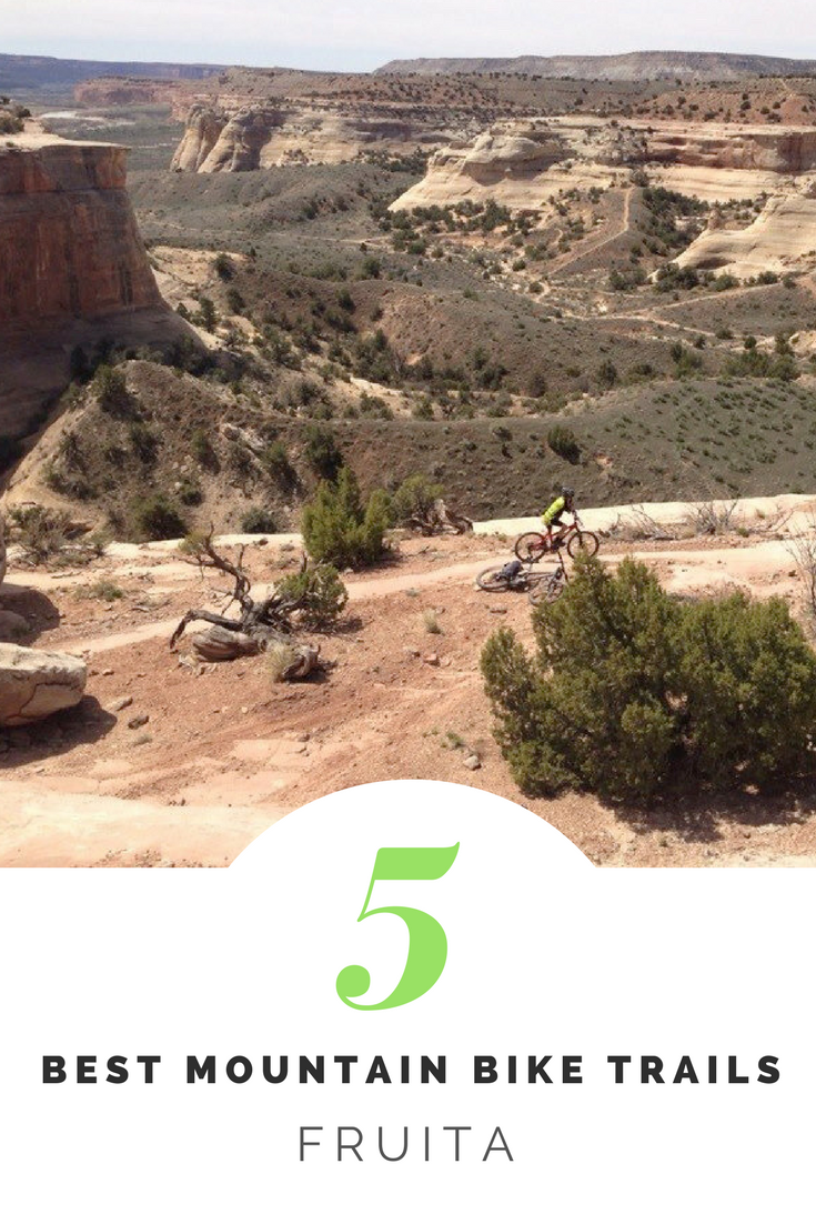 Fruita Mountain Biking | Best places to mountain bike in Fruita. Tips on the top 3 trailheads and rides based on time.
