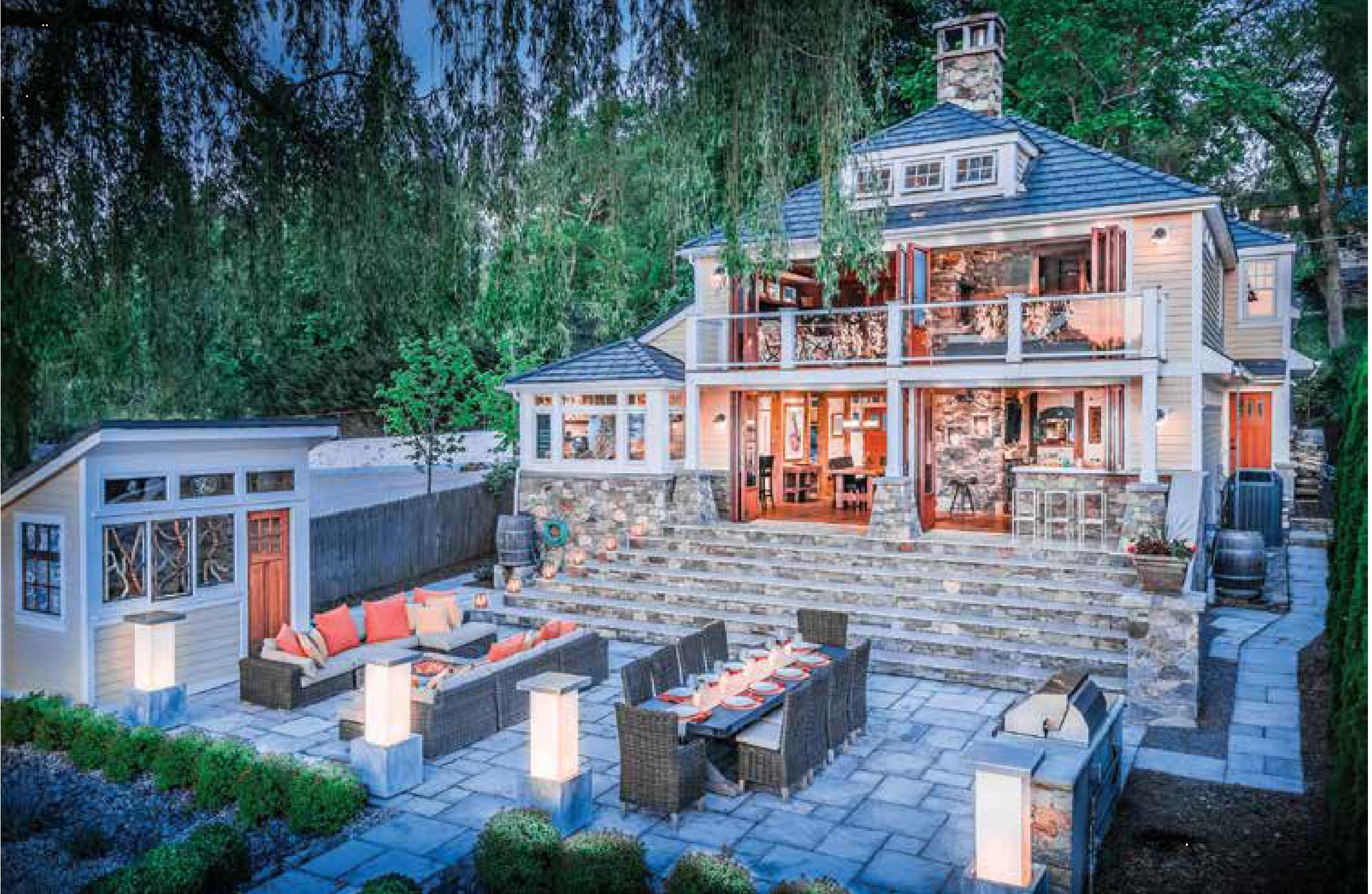 Truesdale Beach House Westchester County Ny The Unico