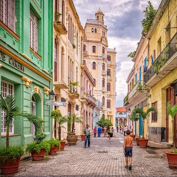 "Plaza Vieja, Havana, Cuba — by Pixamundo. ""A Stroll Through Old Havana"" - If you want to get to know the city of Havana, just start walking. All the colors,..."