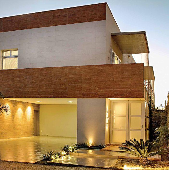 arquitetura com porcelanato madeira porcelanato madeira porcelanato e fachadas modernas