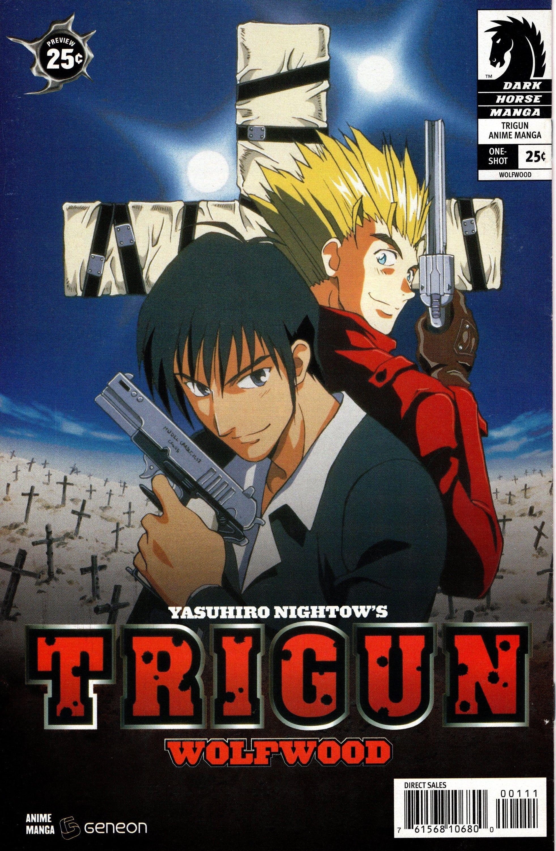 Trigun wolfwood 1 February 2005 Dark Horse Comics Grade