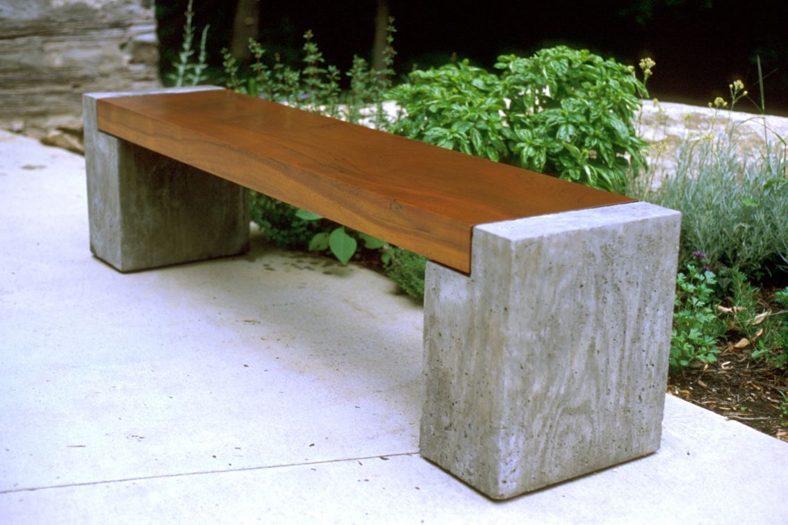 Concrete Bench Ideas Part - 48: Big Joeu0027s Brother Burt - Shop - Wood Design || Furniture And Accessories By  Independent
