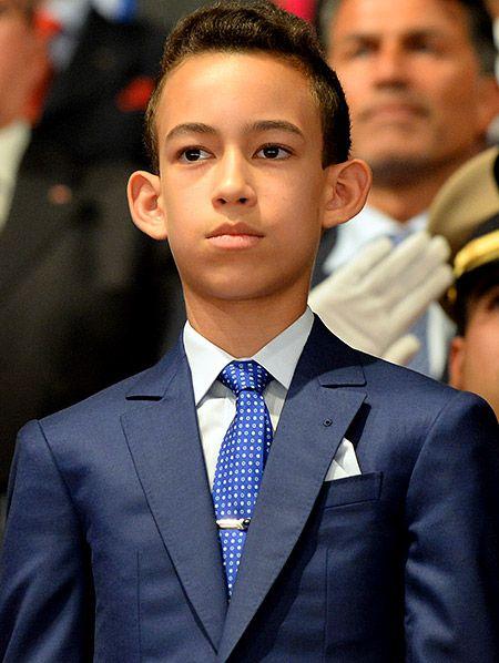 Подрастающие наследники мировых престолов: принц Мулай Хасан, Марокко