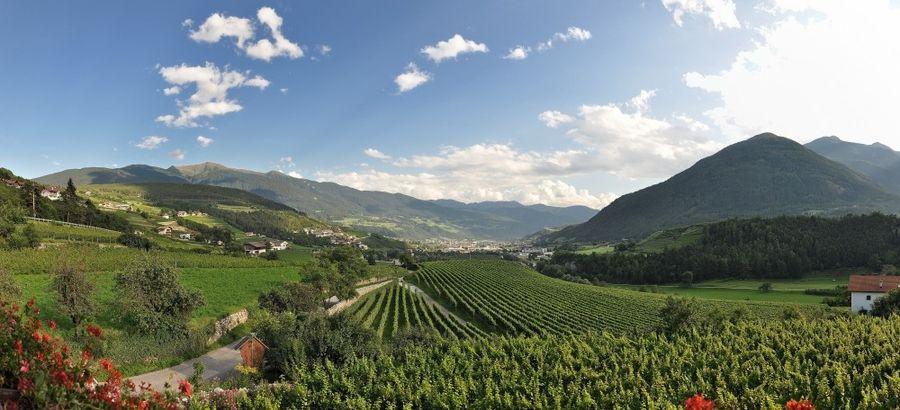 La le magnifiche valli del Trentino... la vallata dell'Isarco!