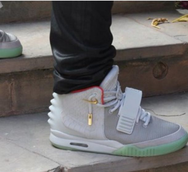 Nike Air Yeezy White
