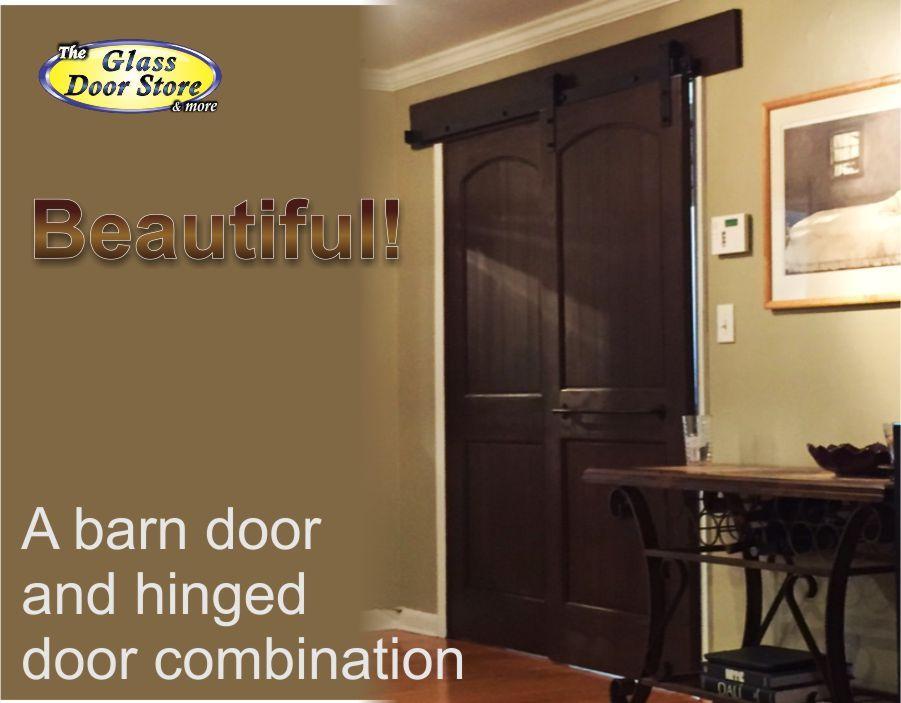 Barn Door With Hinged Door Combination Barn Doors Pinterest