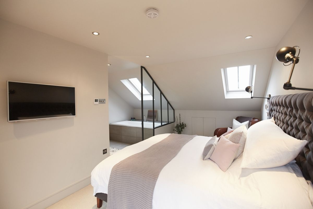 Loft bedroom ideas with ensuite  Conley u Co  Loft conversion  Balham London House renovation and