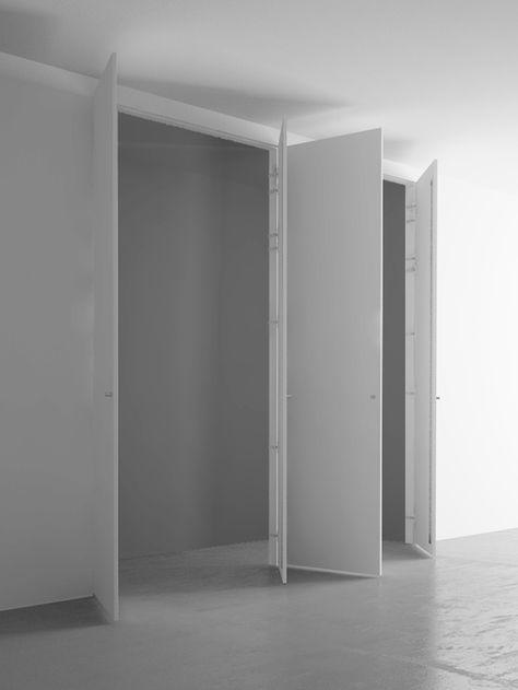 Armadio a muro 4 ante cm 220×260 | Pinterest