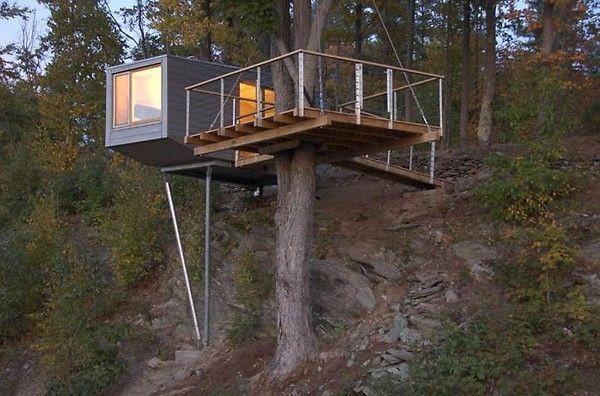 Baumhaus Auf Stelzen Von Baumraum | Places To Be - Wo Ich Einmal ... Das Magische Baumhaus Von Baumraum
