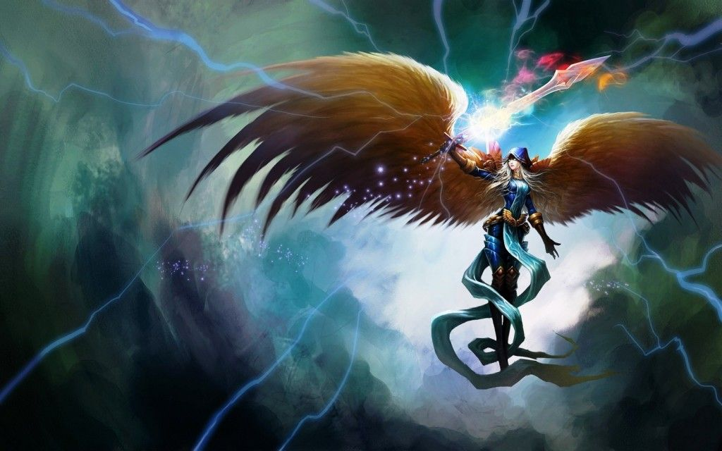 League Of Legend Kayle Hd Pictures League Of Legend Wallpapers Lol