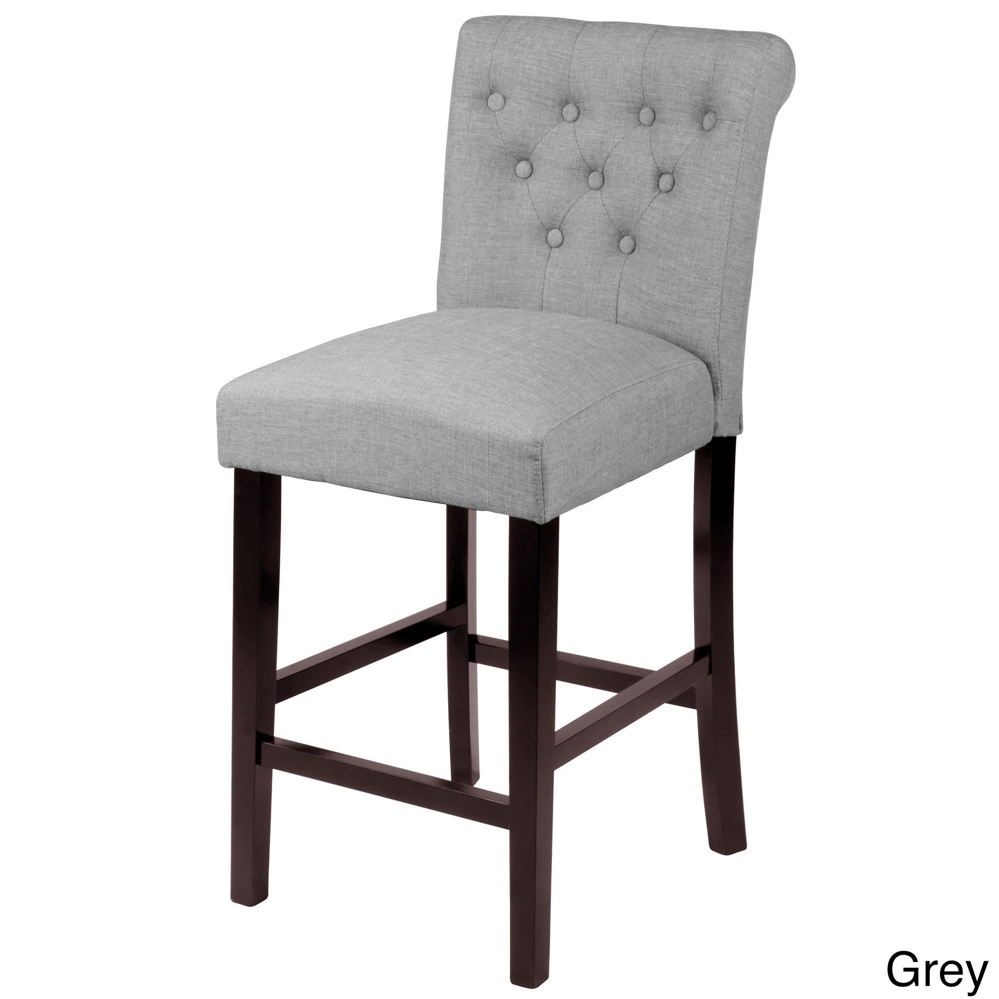 overstock com chairs chair standing aids sopri upholstered counter set of 2