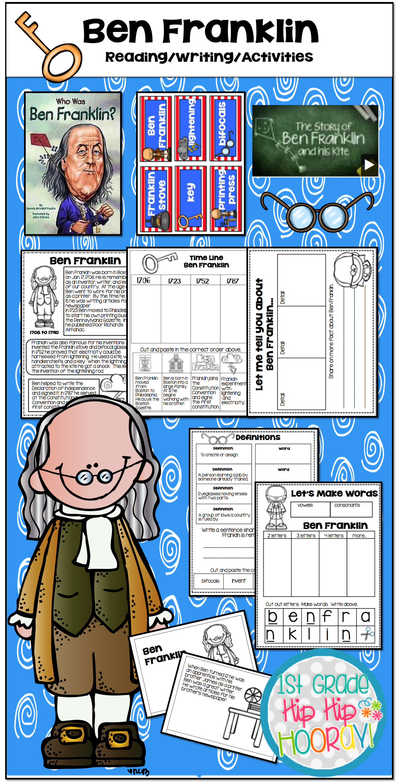 Fun Filled Activities And Research Ideas With Ben Franklin