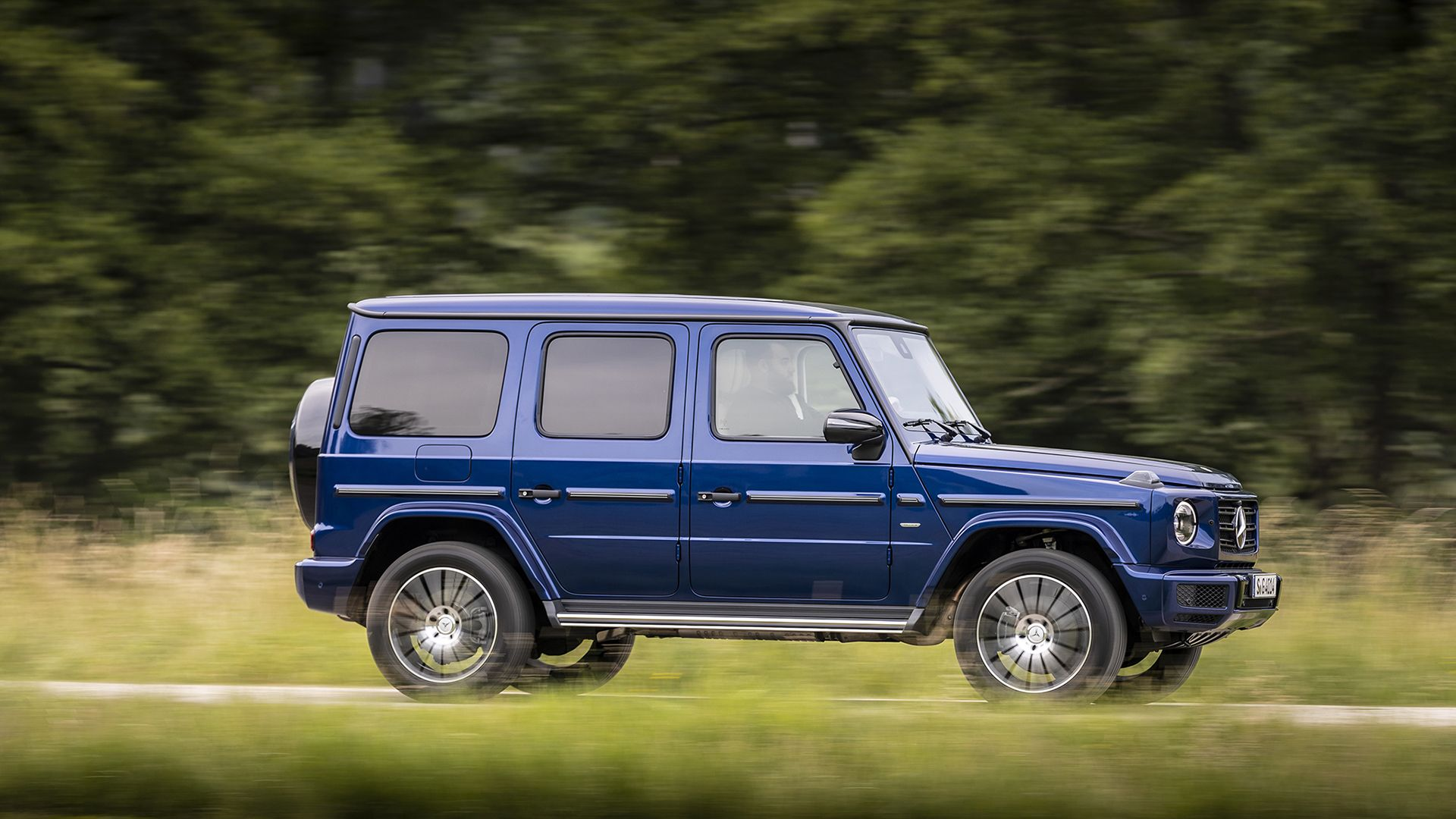 Special Mercedes Benz G Class Models Celebrate 40 Years Of The