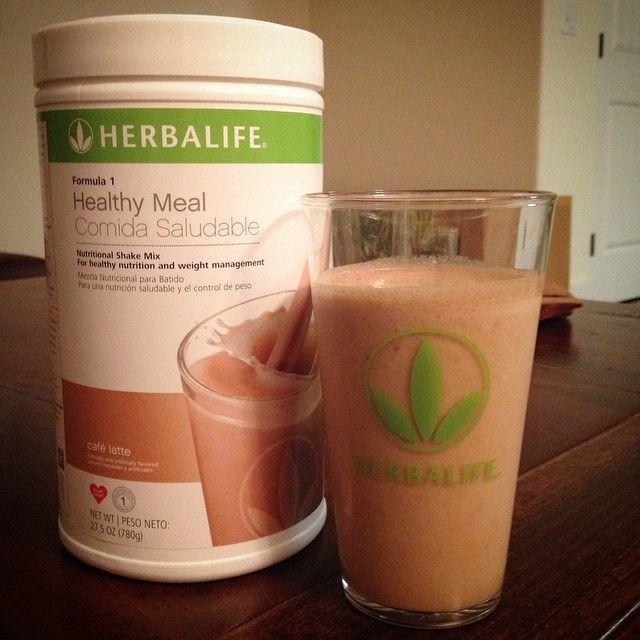 Pecan Soy Latte! 2 Scoops Herbalife Cafe Latte Formula 1