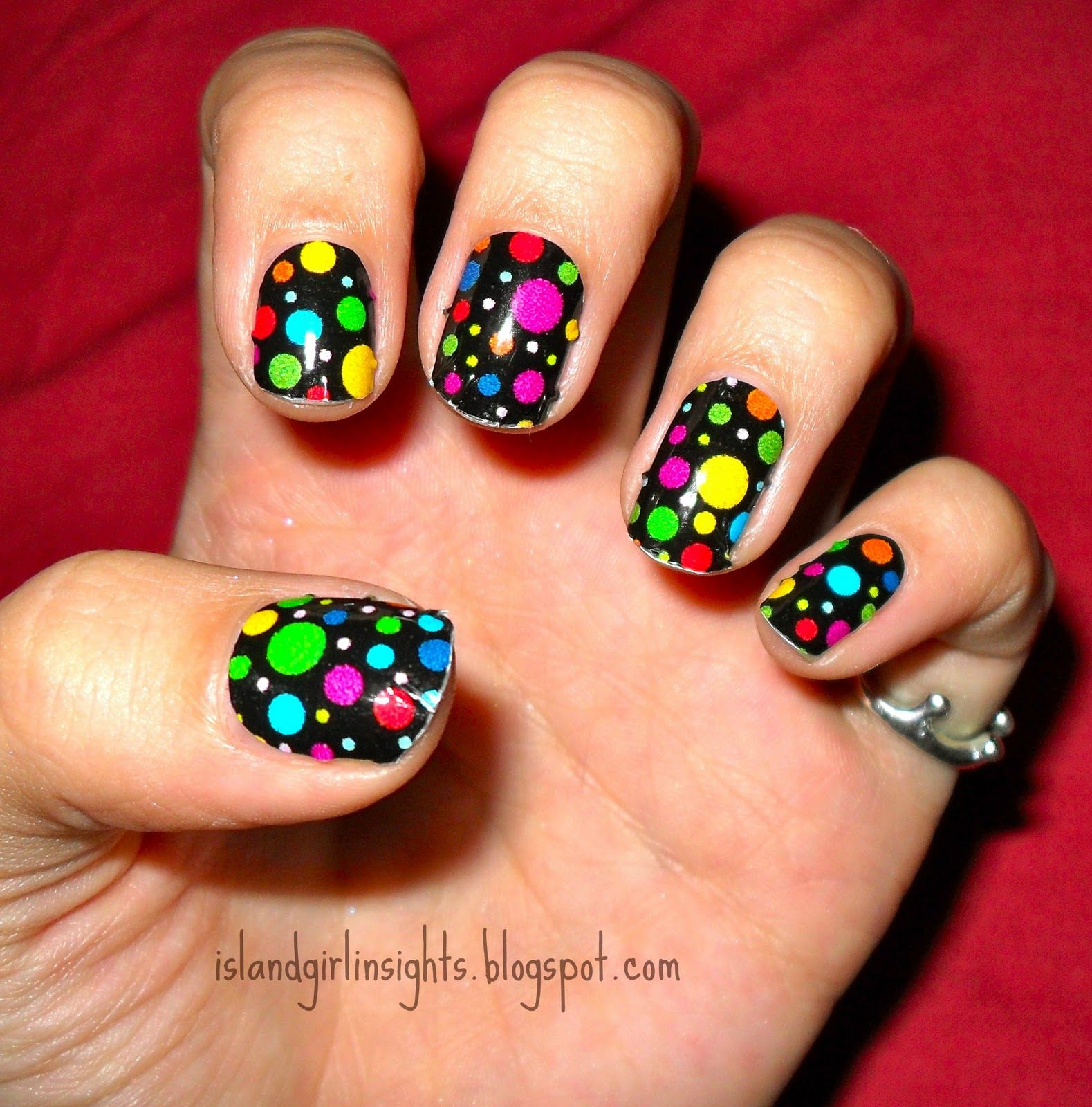 Children in need nail rock nail wraps httpjustrach2011 children in need nail rock nail art prinsesfo Images