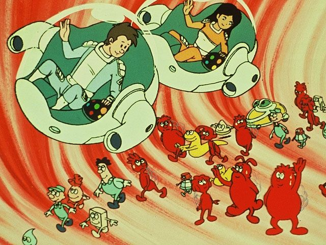 Once upon a time...life (educational cartoon series from France ...
