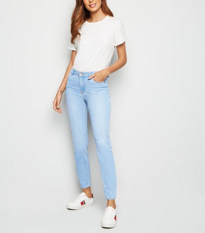 4e82abb8a1a8 Blue Bleach Wash Super Soft Super Skinny India Jeans in 2019 | what ...