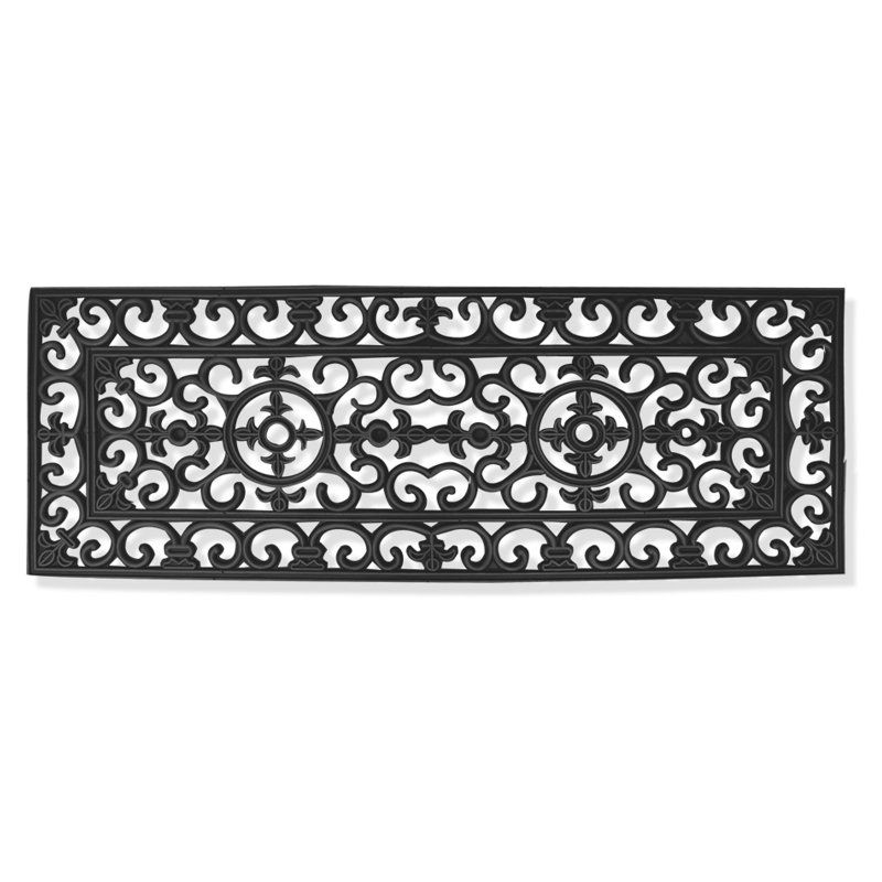 First Impression Audrey Entryway Double Door Outdoor Doormat - RI1001