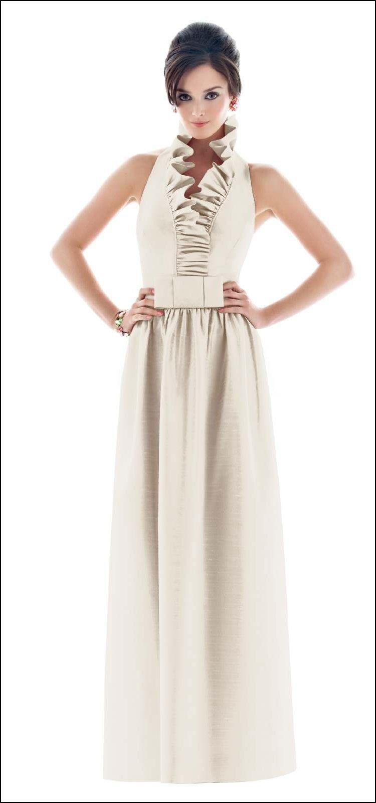 Ruffle collar bridesmaid dress dresses and gowns ideas ruffle collar bridesmaid dress ombrellifo Gallery